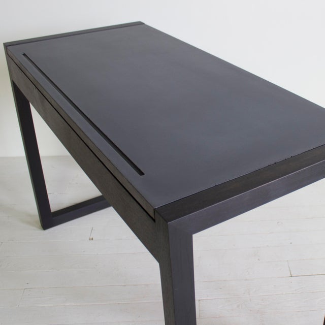 Black George Executive Desk For Sale - Image 8 of 9
