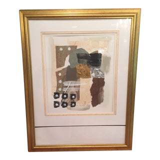 Modern Contemporary Gold Leaf Wall Art For Sale