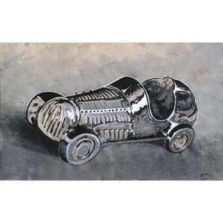 """""""Monopoly Racecar"""" Original Artwork by Kathleen Keifer For Sale"""
