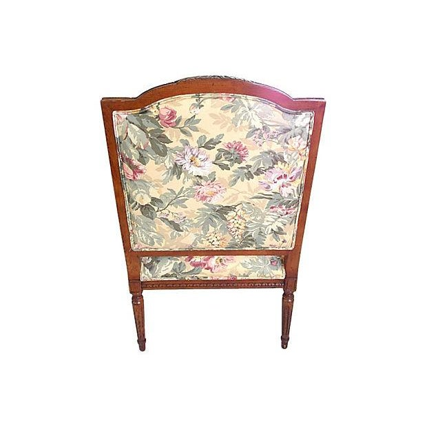 Louis XVI Style Occasional Chair - Image 6 of 7