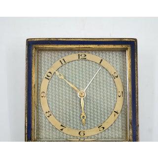 1950s Vintage Hosten + Co. German Square Travel Clock Preview