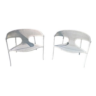 Sutherland Sag Harbor Lounge Chairs - Pair
