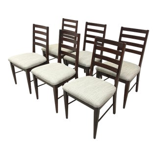 Broyhill Ladder Back Dining Chairs - Set of 6 For Sale