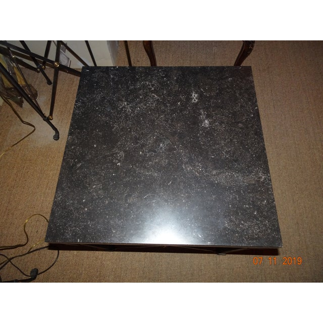 Contemporary Marble Side Table For Sale - Image 4 of 13