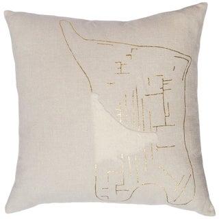 """Yin"" Bonbon Chouval Linen Pillow Marie Burgos For Sale"
