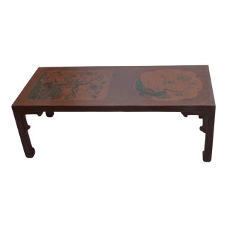 19th Century Chinese Lacquer Low Table For Sale