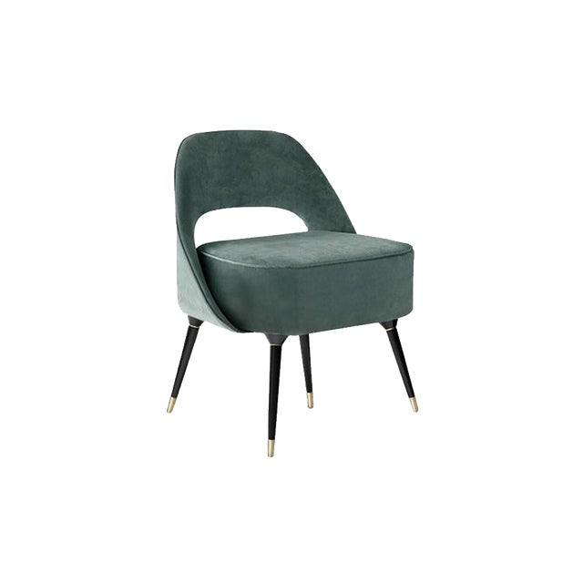 A lounge chair that mixes both modern and classical design approaches. Dimensions Length: 70 cm | 27, 56 in Width: 64, 90...