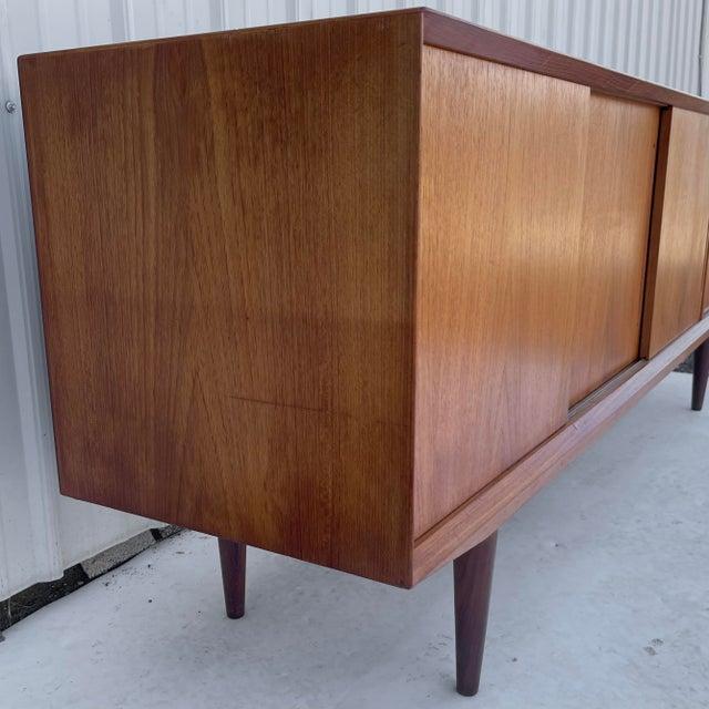 1960s Mid-Century Modern Teak Sideboard Attr. Jens Quistgaard for Løvig For Sale - Image 5 of 13