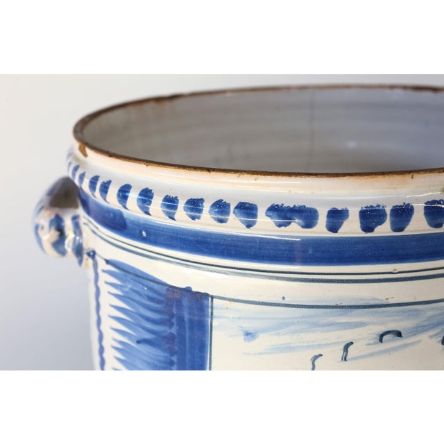 French Nevers Faience 'Pot a Oranger' For Sale - Image 3 of 13