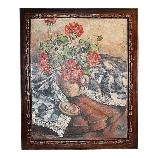 Midcentury Impressionist Painting For Sale