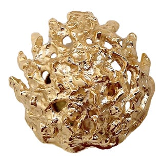 Meteorite Wall Sconce by Angelo Brotto for Esperia For Sale