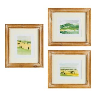 Kenneth Ludwig Italian Landscapes - Set of 3 For Sale