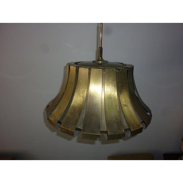 Elio Martinelli Italian Brass Pendant - Image 4 of 5