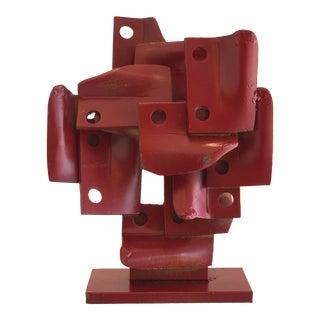 Vintage Brutalis Sculpture by Edgar Negret For Sale