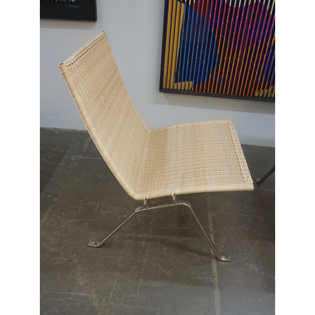 Poul Kjaerholm Pk22 Chairs for E.Kold Christiansen - a Pair For Sale In Palm Springs - Image 6 of 10