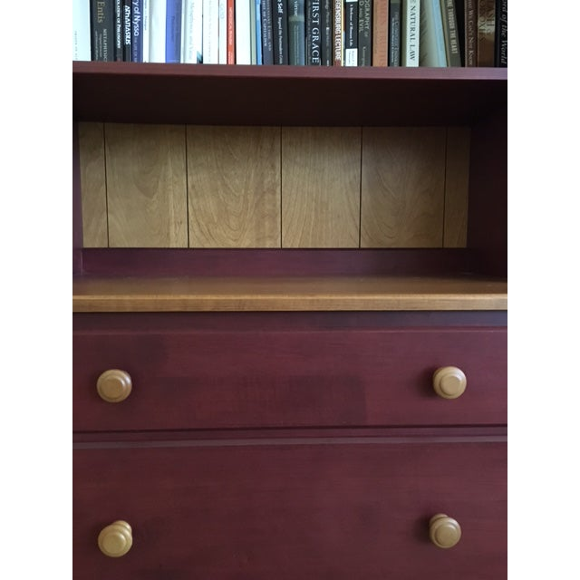 Ethan Allen Ethan Allen Country Colors Collection Bookcase Chests- A Pair For Sale - Image 4 of 6