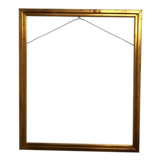 Antique Gold Leaf Gilded Wood Frame