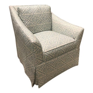 Pearson Veronica Skirted Swivel Chair