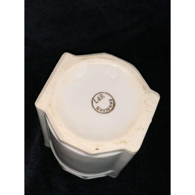 Art Nouveau L & R Germany Spice Condiments Jars Set of 3 For Sale - Image 11 of 13