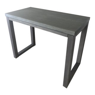 Cb2 Stern Counter Table For Sale