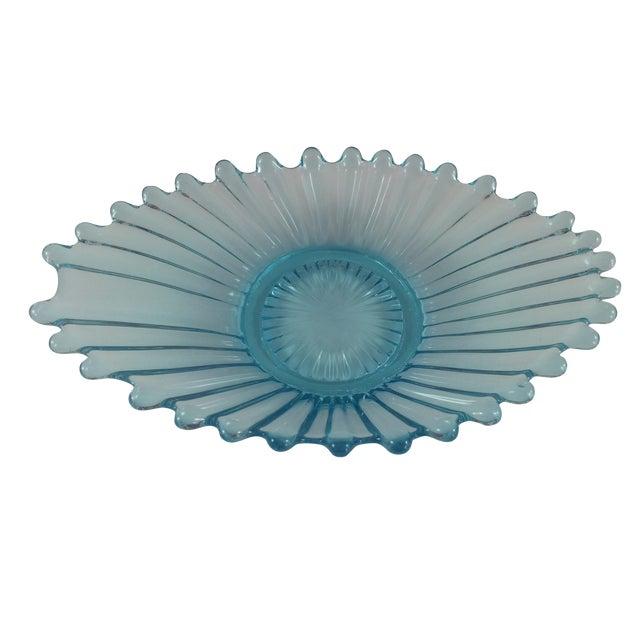 Ice Blue Crystal Catchall Ashtray - Image 1 of 4