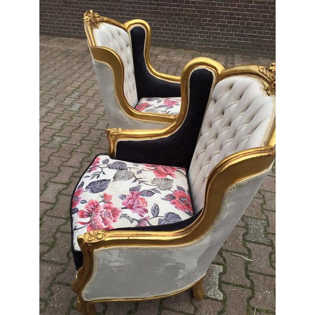 Louis XVI Style Chairs - A Pair - Image 4 of 6