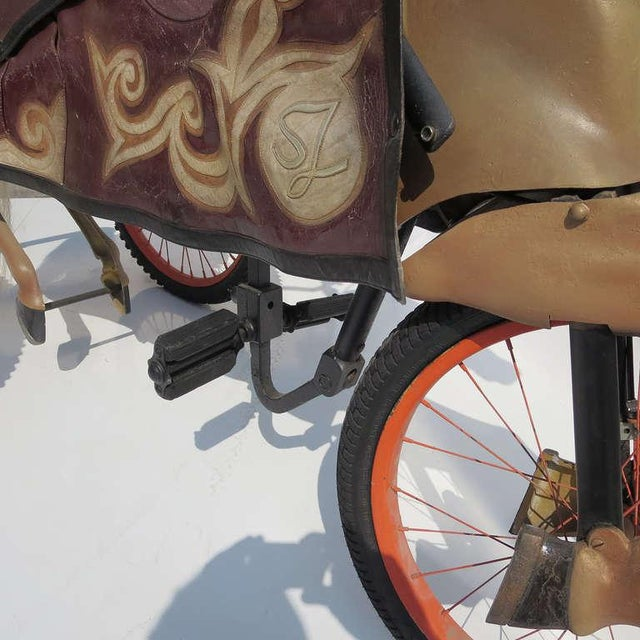 Animal Skin Adult Size, Carnival Horse Racing Bike For Sale - Image 7 of 9
