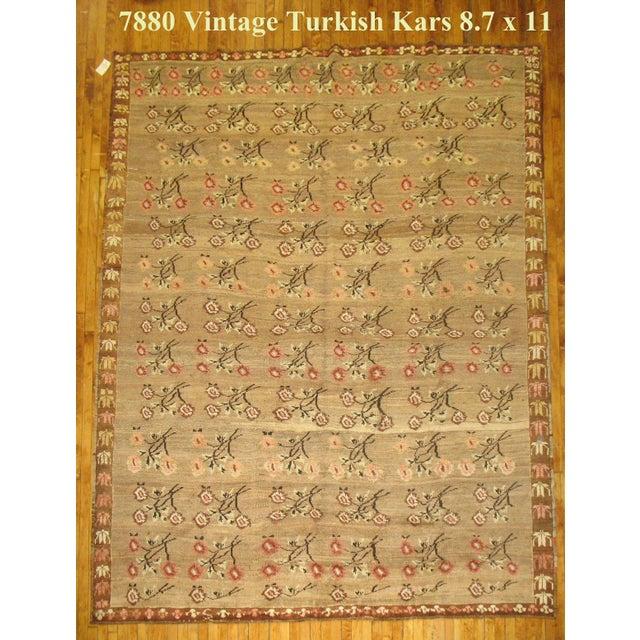 Vintage Turkish Kars, 8'7'' X 11' - Image 7 of 7