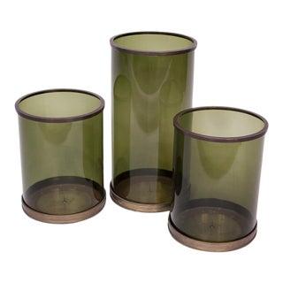 Vintage Ralph Lauren Hurricane Vases - Set of 3 For Sale