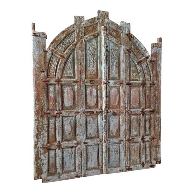 Old Jodhpur Carved Entrance Gate - Image 1 of 2