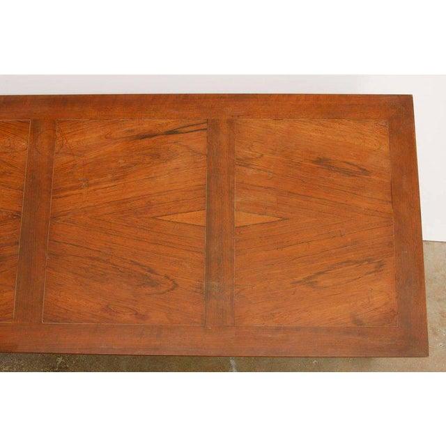 t.h. Robsjohn-Gibbings Neoclassical Cocktail Table for Baker For Sale - Image 12 of 13