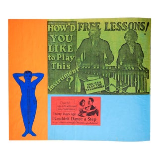 Larry Lewis: Untitled - Page From Collage Book (Free Lessons)