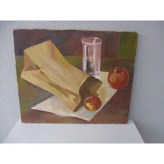 Modernist Still Life Painting - Image 2 of 8