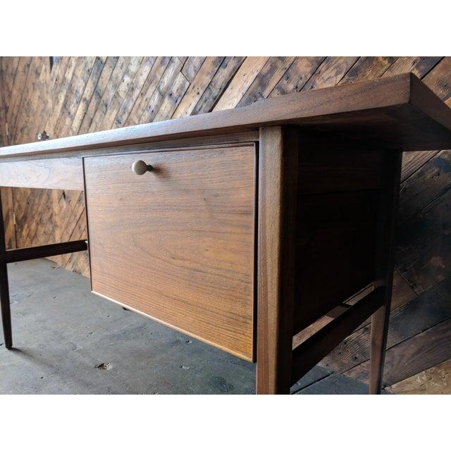 Mid Century Drexel Declaration Desk by Kipp Stewart For Sale - Image 5 of 11