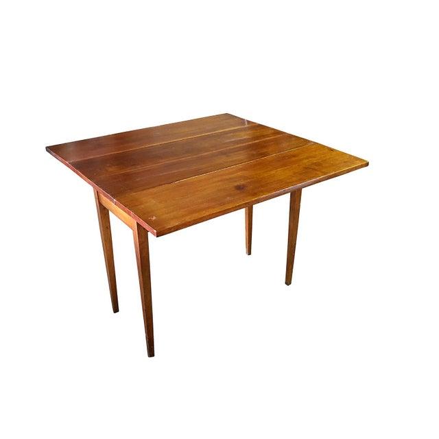 Vintage Modern Farmhouse Drop-Leaf Table - Image 5 of 5