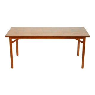 1960s Scandinavian Modern Carl Malmsten Sofa Table For Sale