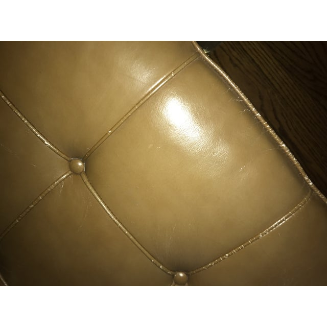 Mies Van Der Rohe Brown Leather Daybed - Image 4 of 6