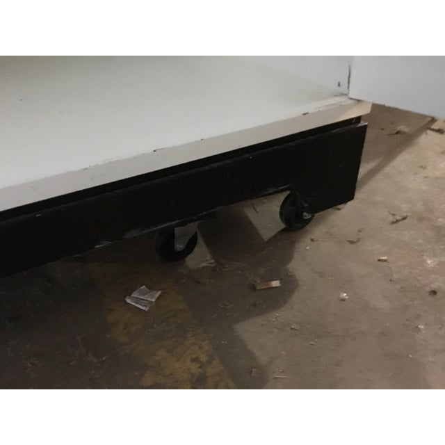 White Dry Bar Cabinet - Image 10 of 11