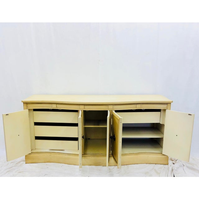 Vintage Regency Style Credenza For Sale In Raleigh - Image 6 of 10