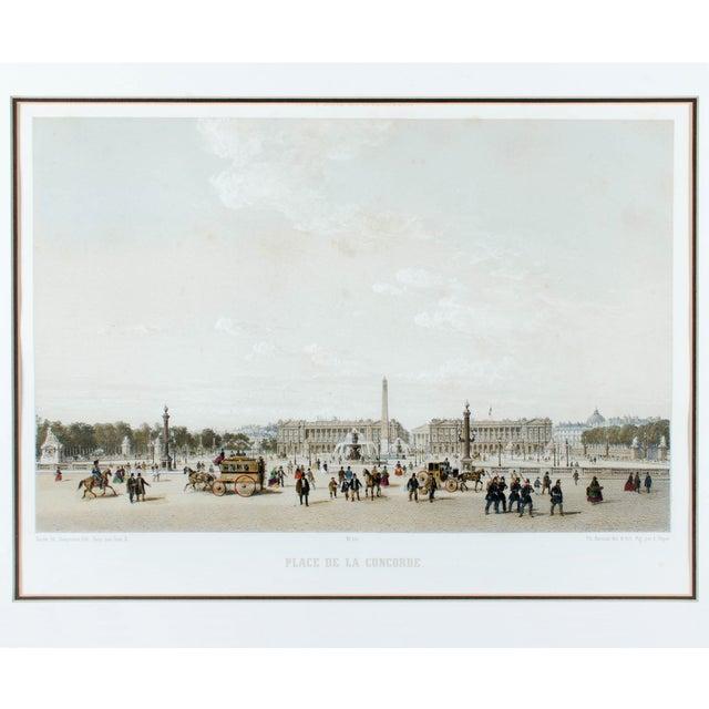 """French """"Place De La Concorde, Paris"""" by Philippe Benoist For Sale - Image 3 of 5"""