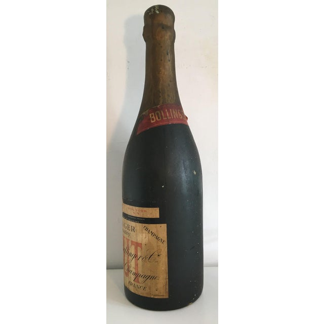 1910s Moving Sale - Make an Offer - Everything Must Go - Giant 3ft Tall French Champagne Bottle - Shop Display For Sale - Image 5 of 9