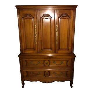 John Stuart Mid-Century Tall Dresser For Sale