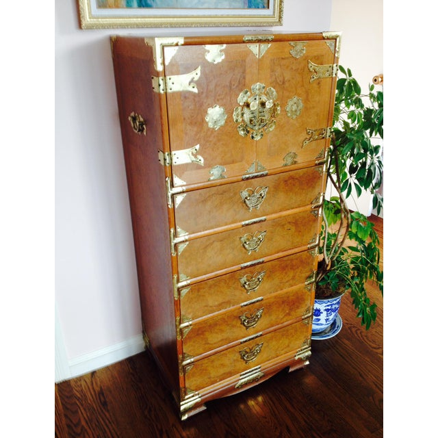 Vintage Asian Camphorwood Dresser - Image 2 of 8