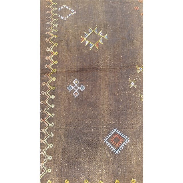 Cactus Silk Moroccan Rug - 4′7″ × 8′ - Image 5 of 5
