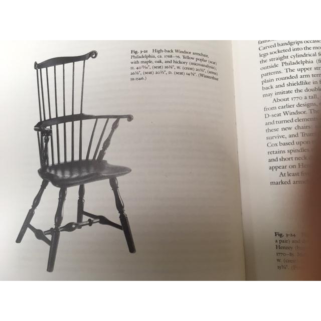 Philadelphia High-Back Windsor Chair For Sale In New York - Image 6 of 6