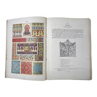 """Antiquarian Book-""""Anthologie De l'Ornement Dictionnaire Des Styles""""-Design Motifs For Sale"""