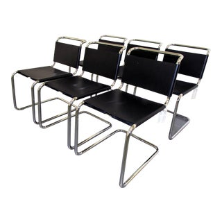 Mies Van Der Rohe Mr Dining Chairs - Set of 6