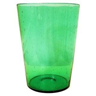1920s Antique Steuben Pomona Green Vase For Sale