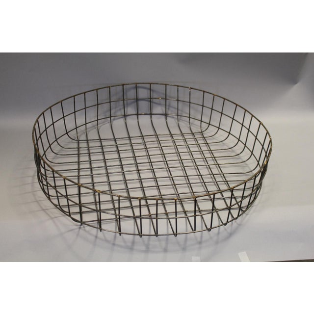 Large Reproduction Wire Basket - Image 4 of 5