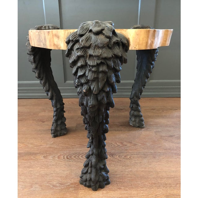 Arteriors Home Arteriors Grotto Side Table For Sale - Image 4 of 8